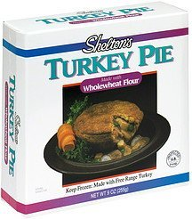 turkey pie Sheltons Nutrition info