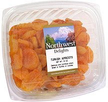 turkish apricots value pack Northwest Delights Nutrition info