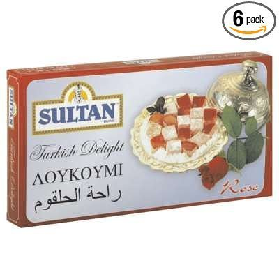 turkish delight rose Sultan Nutrition info