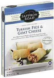 turkish figs & goat cheese mild Saffron Road Nutrition info