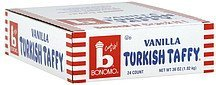 turkish taffy vanilla Bonomo Nutrition info