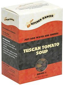 tuscan tomato soup Kitchen Dancer Nutrition info