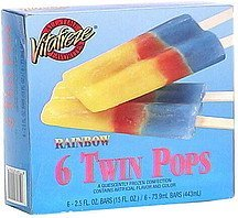 twin pops rainbow Vitafreze Nutrition info