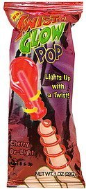 twist & glow pop cherry de-light Impact Confections Nutrition info