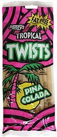 twists tropical, pina colada Kenny's Nutrition info