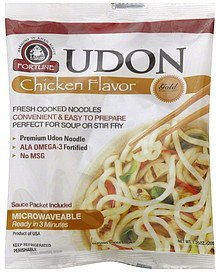 udon chicken flavor Fortune Nutrition info
