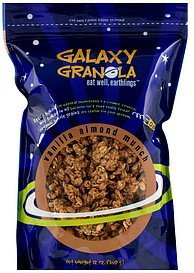 vanilla almond munch Galaxy Granola Nutrition info