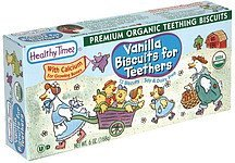 vanilla biscuits for teethers Healthy Times Nutrition info