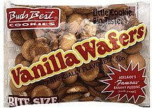 vanilla wafers bite size Buds Best Cookies Nutrition info