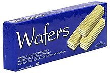 vanilla wafers Adin Nutrition info