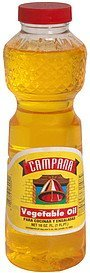 vegetable oil Campana Nutrition info