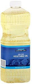 vegetable oil Midwest Country Fare Nutrition info