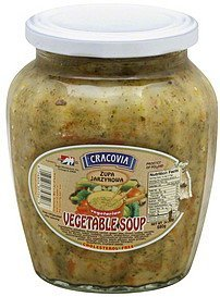 vegetable soup vegetarian Cracovia Nutrition info