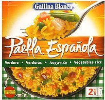 vegetables rice Gallina Blanca Nutrition info