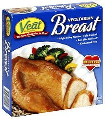 vegetarian breast Veat Nutrition info