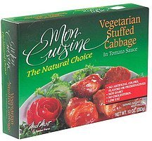 vegetarian stuffed cabbage Mon Cuisine Nutrition info