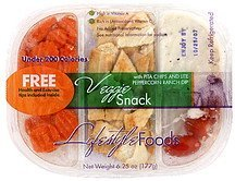 veggie snack Lifestyle Foods Nutrition info