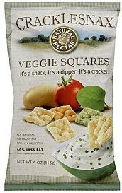 veggie squares Natural Nectar Nutrition info