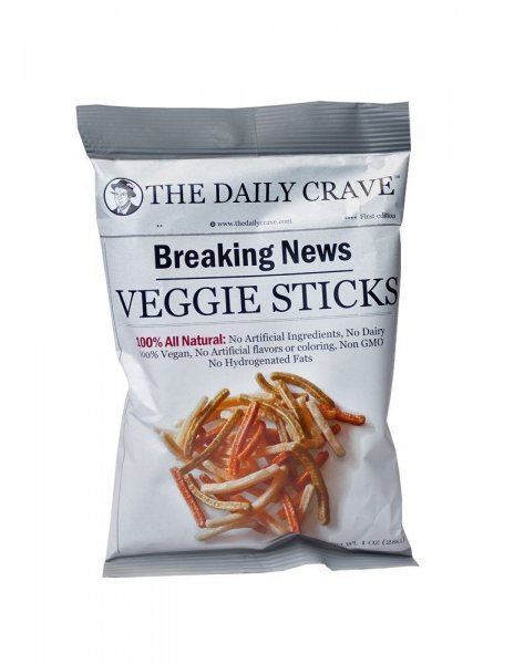 veggie sticks THE DAILY CRAVE Nutrition info