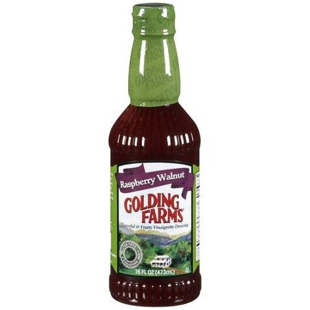 vinaigrette dressing raspberry walnut Golding Farms Nutrition info
