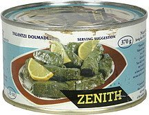 vine leaves stuffed Zenith Nutrition info