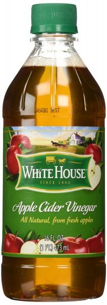 vinegar apple cider White House Nutrition info