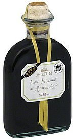 vinegar balsamic, of modena Acetum Nutrition info