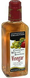 vinegar champagne wine and strawberry International Collection Nutrition info