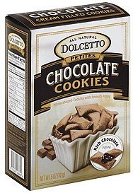 wafer rolls chocolate Dolcetto Nutrition info