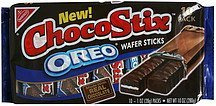 wafer sticks oreo ChocoStix Nutrition info