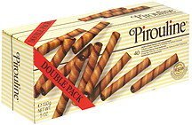 waferrolls chocolate flavour lined Pirouline Nutrition info