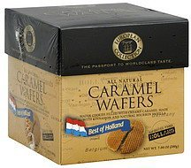 wafers caramel, best of holland European Voyage Collection Nutrition info