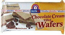 wafers chocolate cream filled Glutano Nutrition info