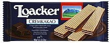 wafers cremkakao Loacker Nutrition info