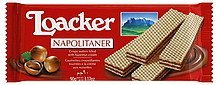 wafers napolitaner Loacker Nutrition info