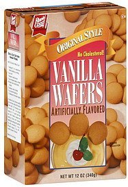 wafers vanilla, original style Rippin' Good Nutrition info