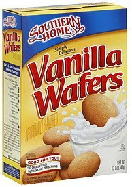 wafers vanilla Southern Home Nutrition info