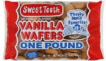 wafers vanilla Sweet Tooth Nutrition info
