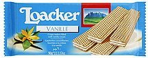 wafers vanille Loacker Nutrition info