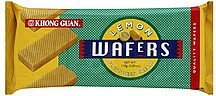 wafers wafer, lemon flavoured cream Khong Guan Nutrition info