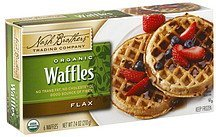 waffles organic, flax Nash Brothers Trading Company Nutrition info
