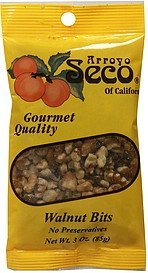walnut bits Arroyo Seco of California Nutrition info