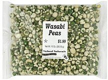 wasabi peas Valued Naturals Nutrition info