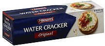 water cracker original Arnotts Nutrition info