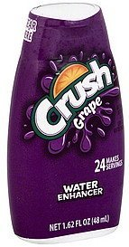 water enhancer grape Crush Nutrition info