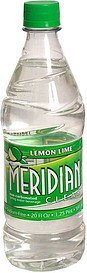 water non-carbonated spring, lemon-line Meridian Clear Nutrition info