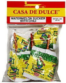 watermelon sucker with chili Casa De Dulce Nutrition info
