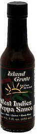 west indies peppa sauce Island Grove Nutrition info