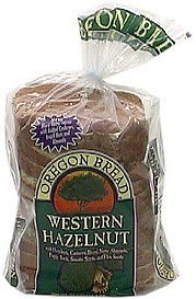 western hazelnut bread Oregon Bread Nutrition info