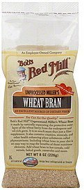wheat bran unprocessed miller's Bobs Red Mill Nutrition info